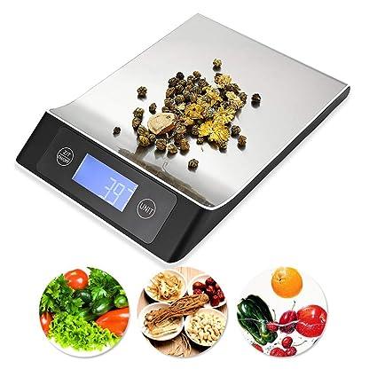 Báscula Digital De Cocina 15 Kg Con Función De Tara Báscula Electrónica De Alimentos Báscula De