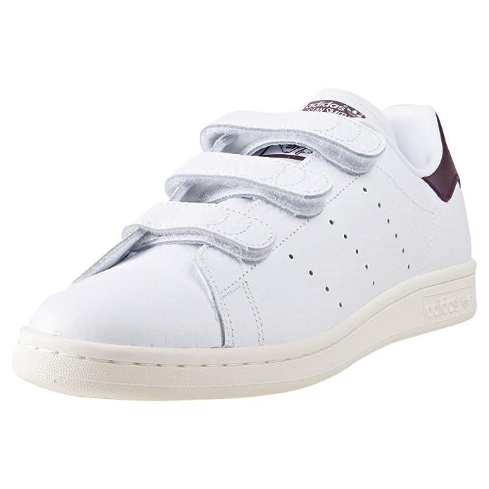 Adidas stan smith à scratch taille 42 2/3 blanc vert RlhWtn