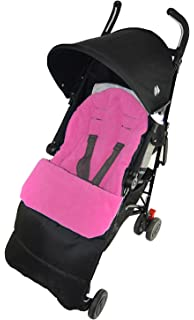 Footmuff//Cosy Toes Compatible with Bugaboo Bee Pushchair Pink Rose