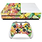 MightySkins Skin For Microsoft Xbox One S - Sour Candy | Protective, Durable, and Unique Vinyl Decal wrap cover | Easy To Apply, Remove, and Change Styles | Made in the USA