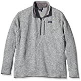 Patagonia Mens Better Sweater 1/4 Zip (Small, Stonewash)