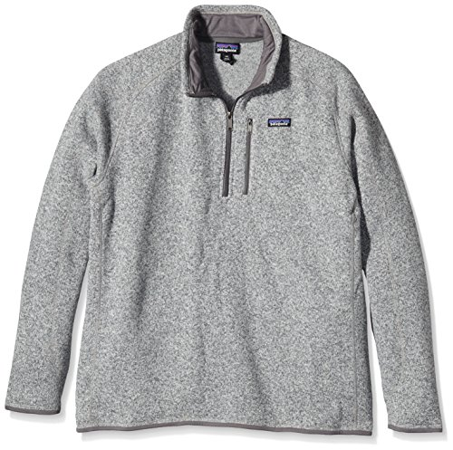 Patagonia Mens Better Sweater 1/4 Zip (Large, Stonewash)