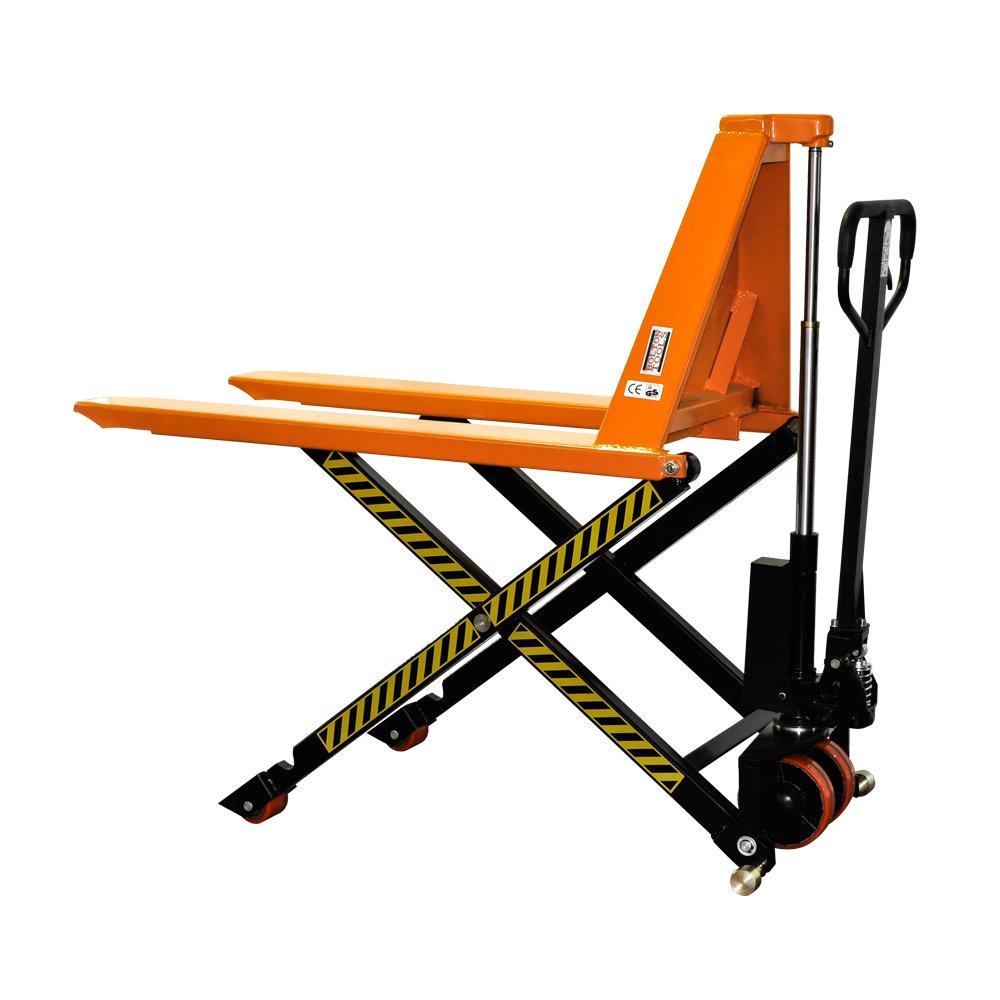 Bolton Tools New Manual Scissor High Lift Pallet Jack Truck - 2200 LB of Capacity - 31.5'' Max Height - Model GS100