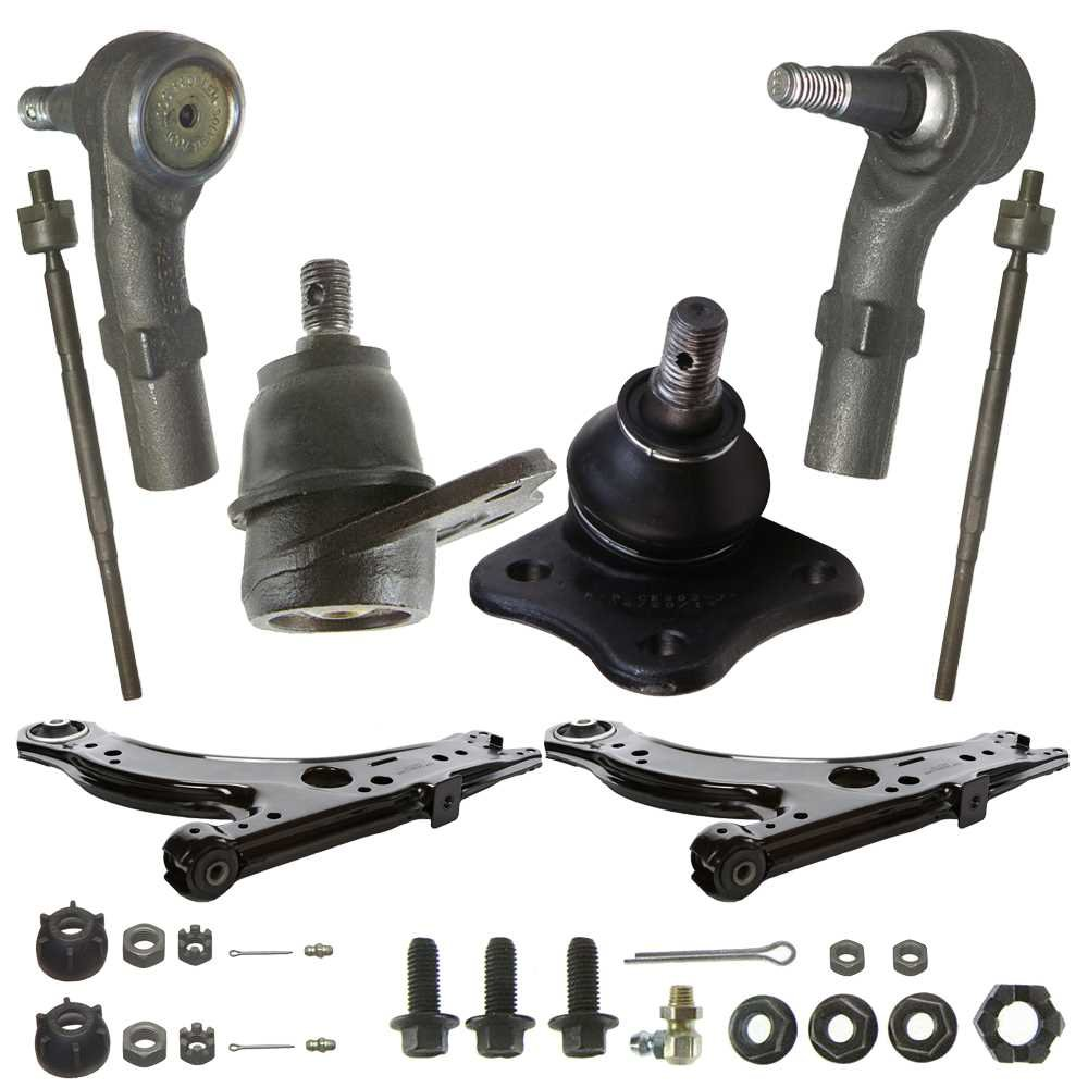 Prime Choice Auto Parts SUSPPK00054 Front Set of 2 Control Arms 2 Inner and 2 Outer Tie Rods and 2 Lower Ball Joints