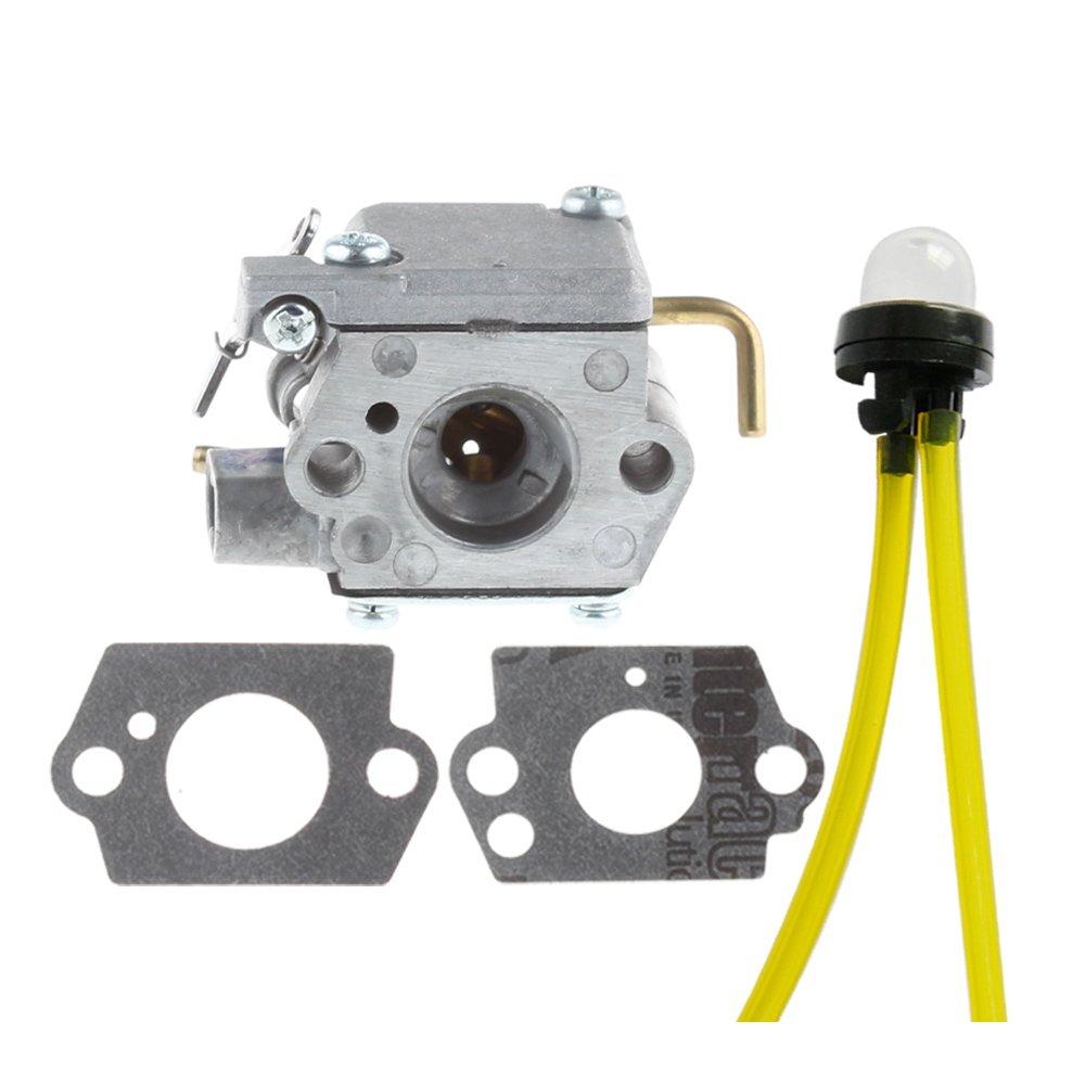 Amazon.com : HIPA WT-827 carburetor with Primer Bulb for MTD Bolens Trimmer  BL100 BL150 BL250 BL410 Yard Man Machines YM70SS 120R 121R 2800m Y28 Y725  YM1000 ...