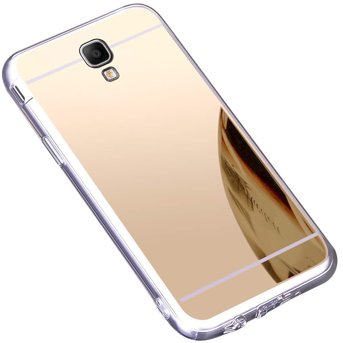 Ultra Slim Morbido Specchio Silicone Cover Placcatura Resistente Anti-Scratch Bumper Mirror Cover per Samsung Galaxy Note 3-Argento SainCat Custodia Galaxy Note 3