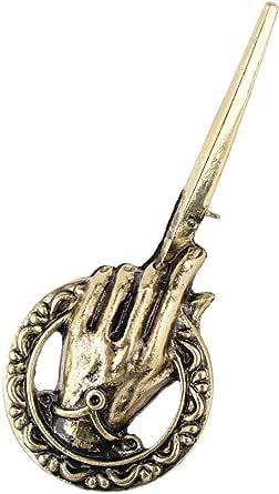 Broche retro de Juego de Tronos, de la mano del rey