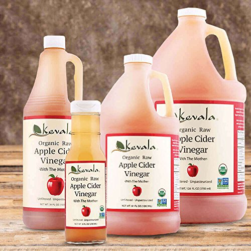 Kevala Organic Raw Apple Cider Vinegar, 64 Fluid Ounce 4
