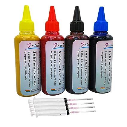 F-INK - Tinta de sublimación Compatible con impresoras Epson de ...