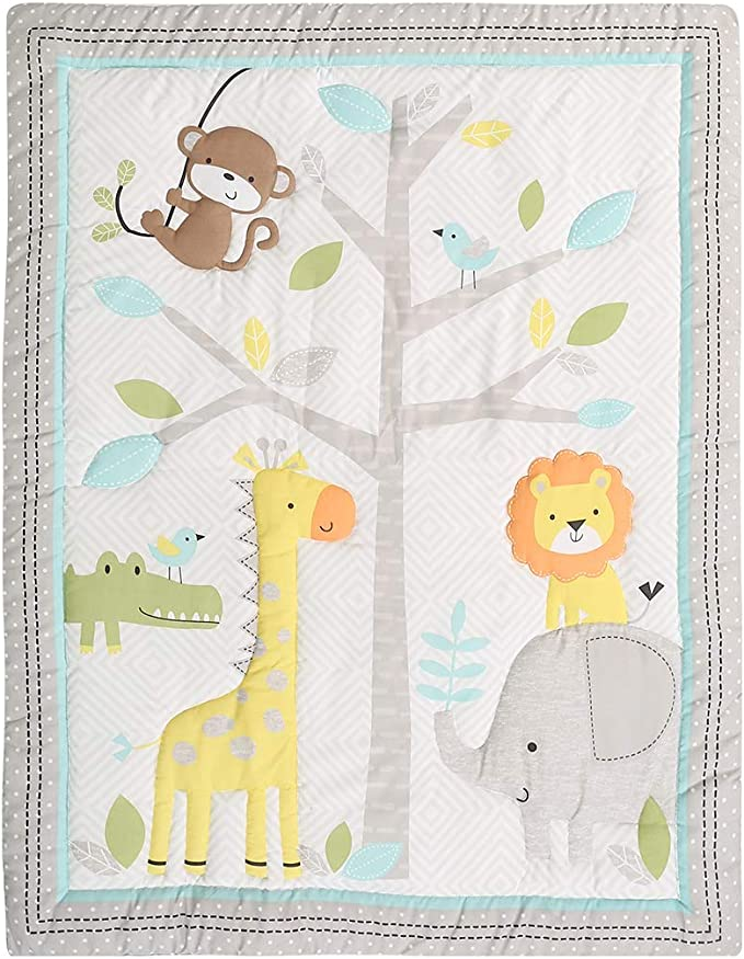 Safari Harem Leggings Handmade Baby Boy Girl Toddler Outfit Jungle with Elephants Giraffes and Monkeys