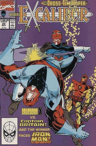 Excalibur #22 VF/NM ; Marvel comic book