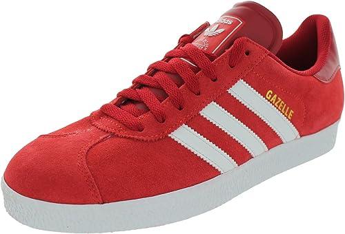 gazelle adidas red womens