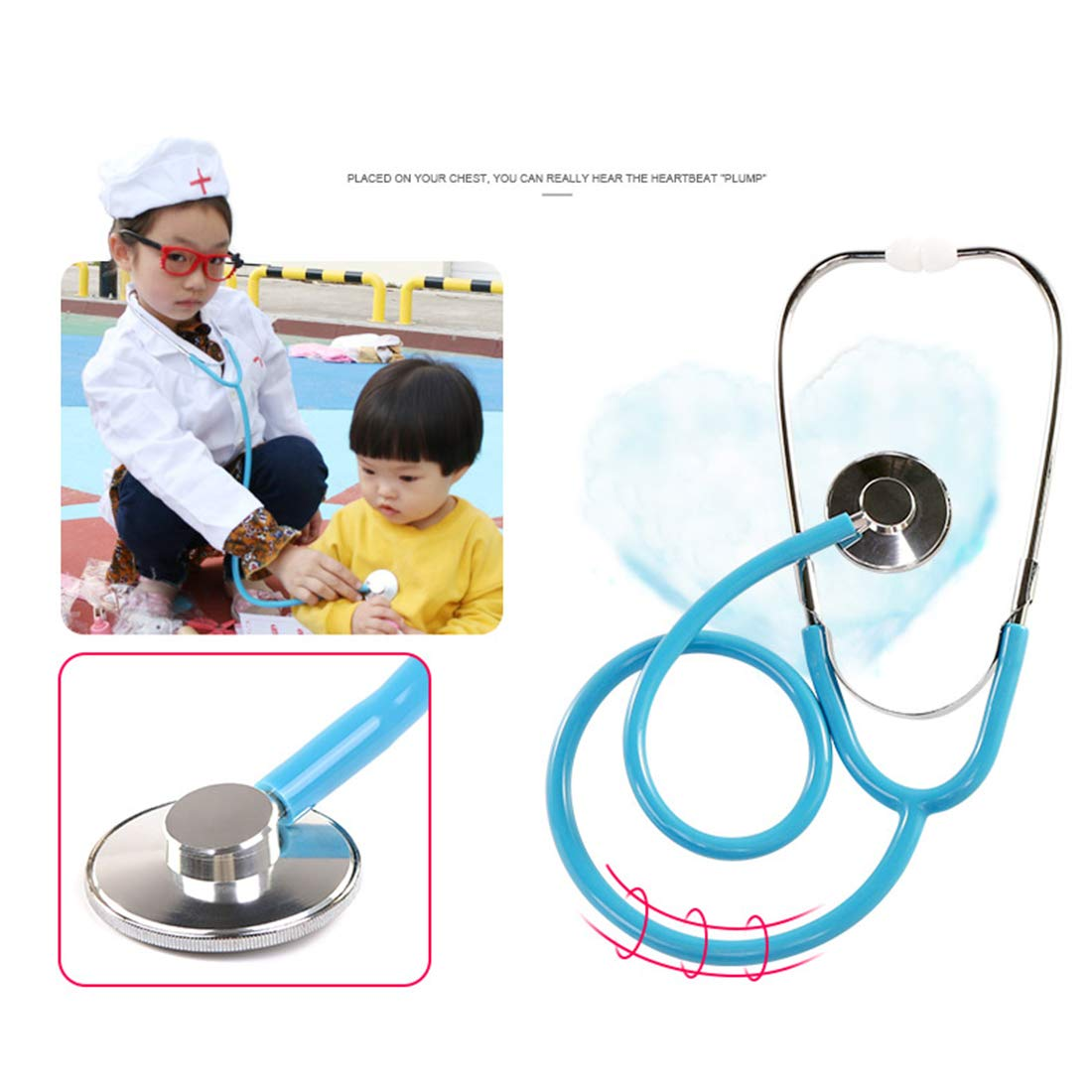 Yavso 28 Piezas Maletin Medico Juguete Maletin Doctora Madera Medico Juguetes para Infantil Ni/ño Ni/ña 3 Anos