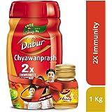 Dabur Chyawanprash, 1kg with Free Dabur Honey, 50g