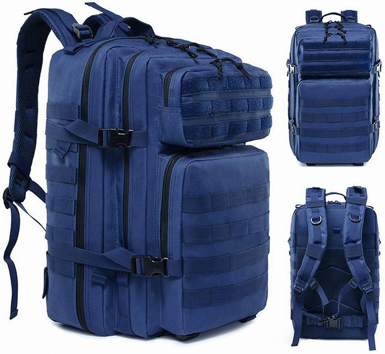 45L Large Mens Waterproof Backpack Unisex Rucksack Hiking Camping Bag Travel UK