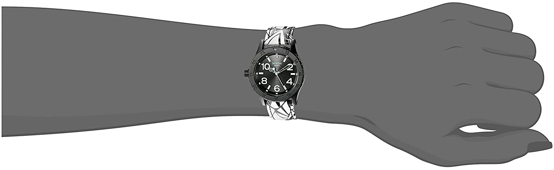 Nixon Women s A4672218-00 38-20 Leather Analog Display Japanese Quartz Multi-Color Watch