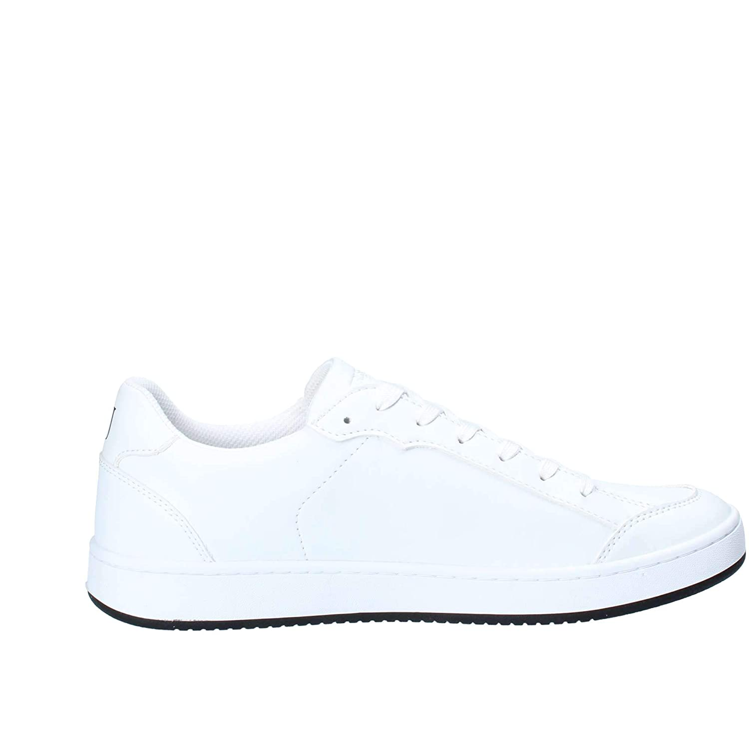 White Trussardi Sneaker Synthetic Leather 77A00131 41 M EU 8 US
