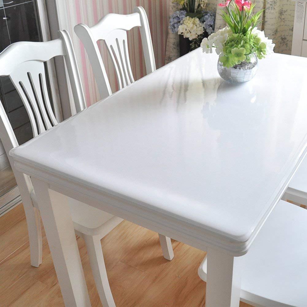 Shuangdeng ポリ塩化ビニールのテーブルクロス水およびオイルの証拠のテーブルクロス柔らかいガラスはテーブルクロスをつや消し (Color : I, サイズ : 60x100cm(24x39inch))   B07S66W5LB