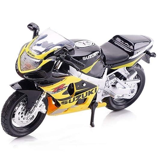 Kikioo 1/18 Modelo Motocicleta Kawasaki H2R Dukadi Demon ...