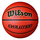 Basketballs Best Deals - Wilson Evolution Indoor Game Basketball, Official - Size 7