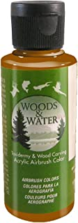 product image for Badger Air-Brush Co. 4-Ounce Woods and Water Airbrush Ready Water Based Acrylic Paint, Coco Brown