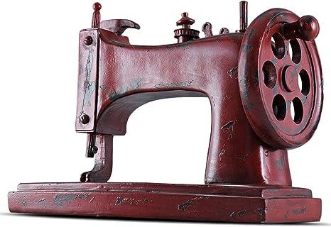 TongN Esculturas Escritorio Resina Ornamento, Retro Máquina de ...