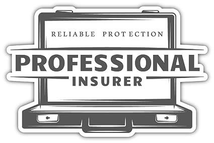 Amazon Com Skylabel Professional Insurance Bumper Sticker