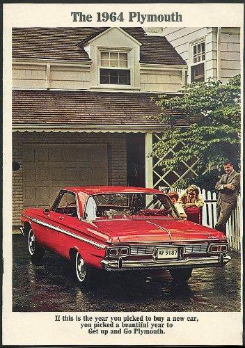 Large Showroom Sales Brochure 1964 Plymouth Fury - Belvedere - Savoy - Sport Fury