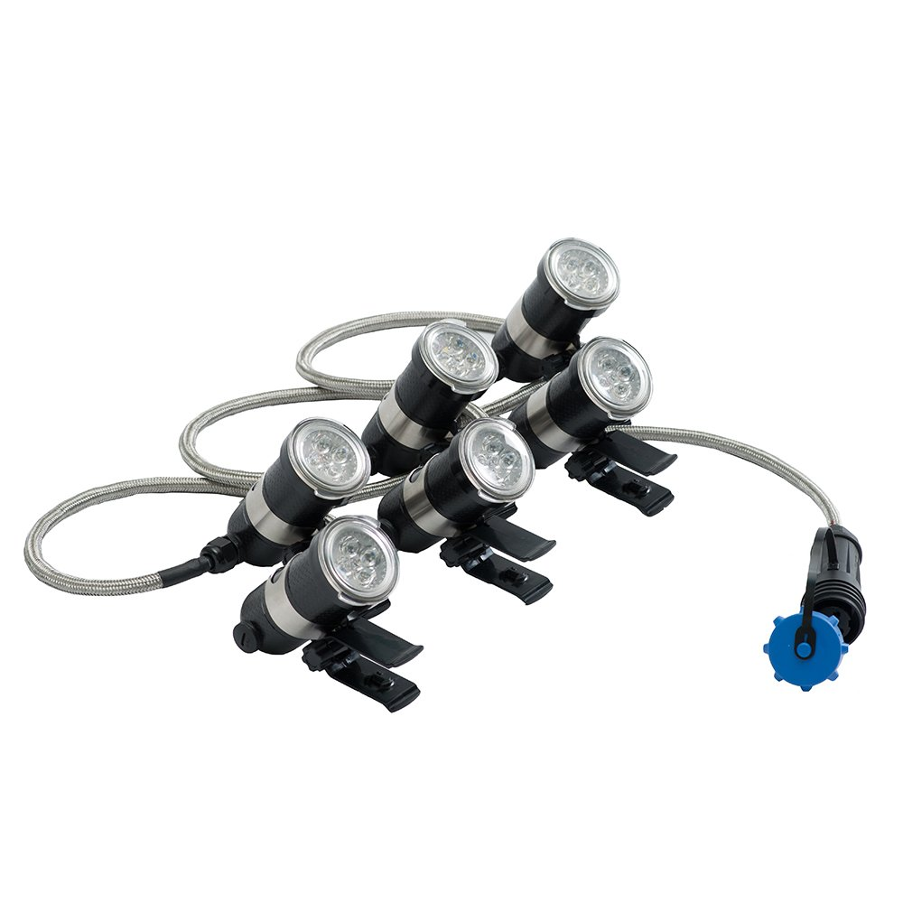 Airmax LED 6 Light Set, 100' Cord by Airmax Aeration & Fountains