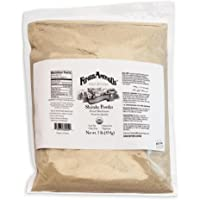 Organic Dried Shiitake Mushroom Powder   1-Pound Resealable Bulk Bag   Nutritious Gourmet Mushroom Powder for Cooking…