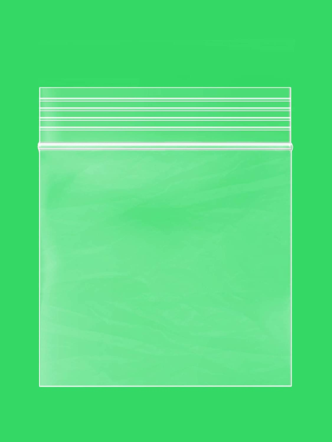 3 x 3 inches, 2Mil Clear Reclosable Zip Lock Bags, case of 1,000 GPI Brand