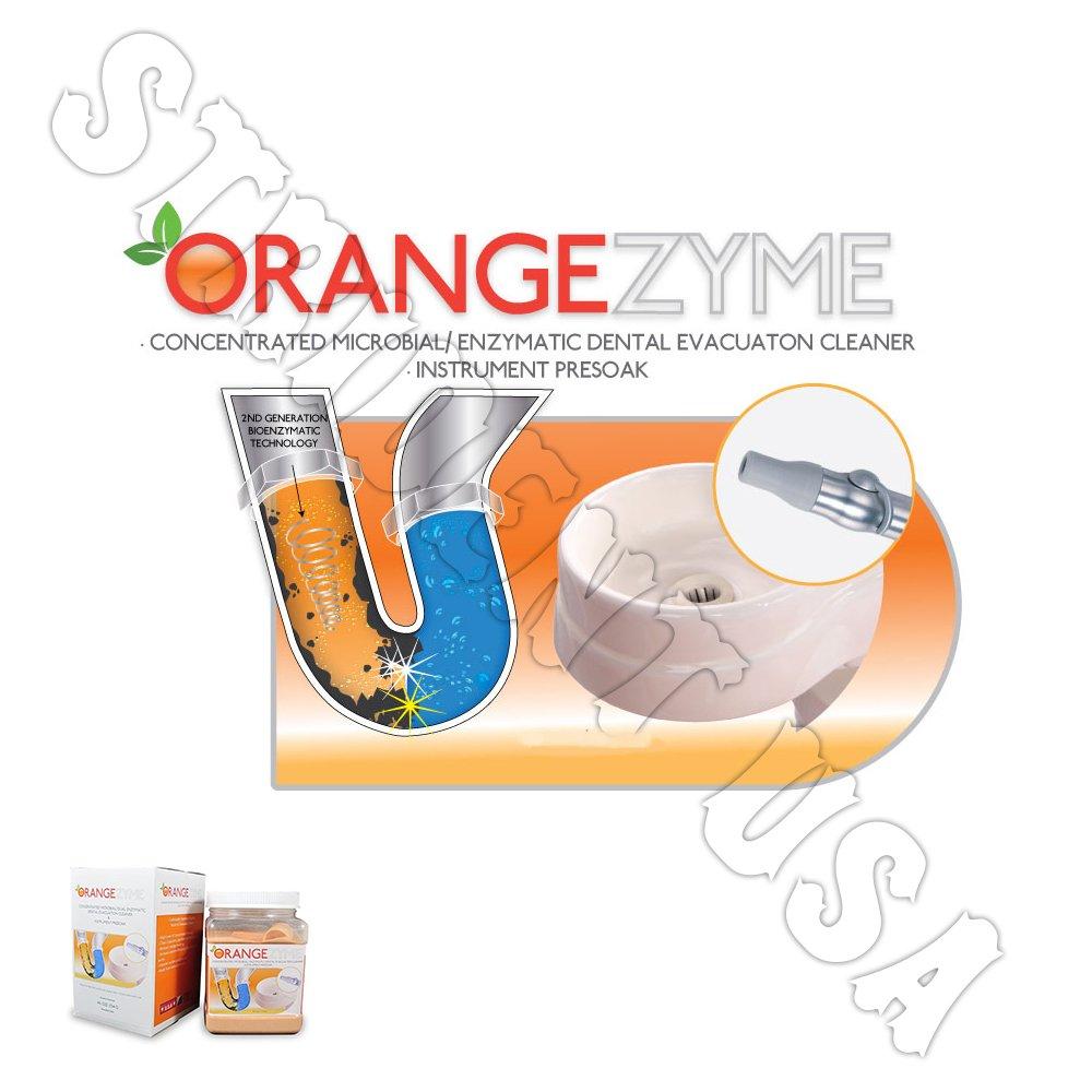 Orangezyme Enzymatic Dental Evacuation Cleaner and Instrument Presoak 40 oz