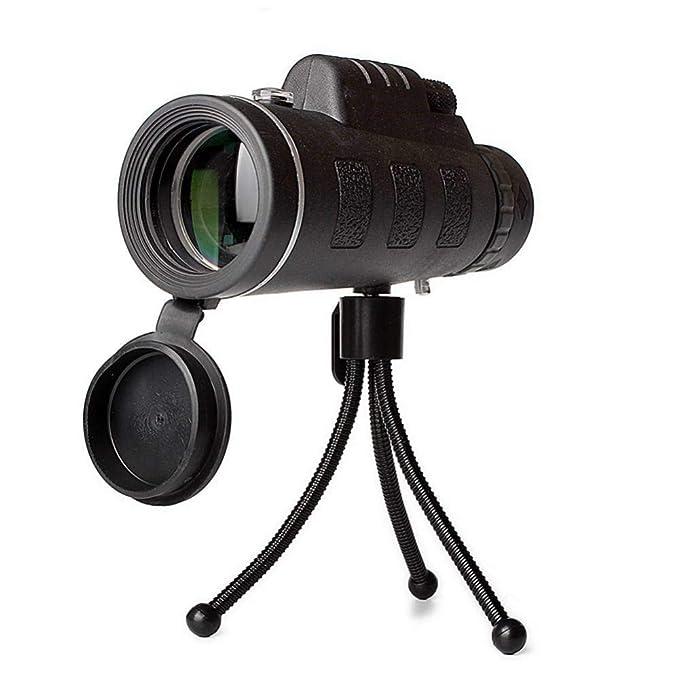 HCWH 40X60 (1500M-9500M) Telescopio monocular HD portátil ...