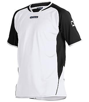 Stanno Porto K.A. Camiseta deportiva, color blanco y negro
