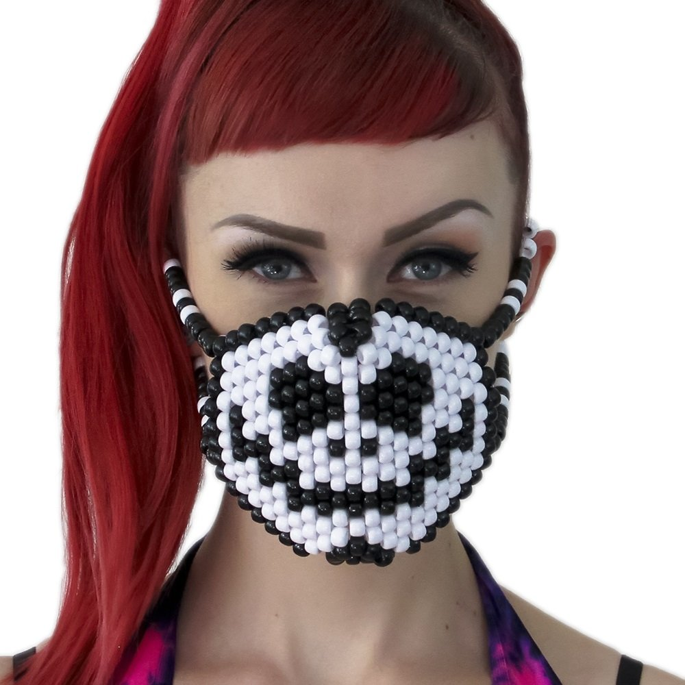 Jack Skellington Surgical Kandi Mask by Kandi Gear