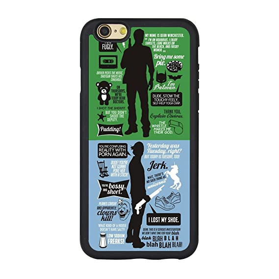 detailed look 8d39e fee94 Supernatural iPhone 7 Case,Supernatural Quotes Case for iPhone 7 4.7