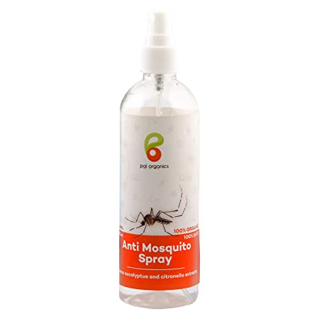 Pai Organics Certified Herbal Extracts Anti Mosquito Spray (100ml)