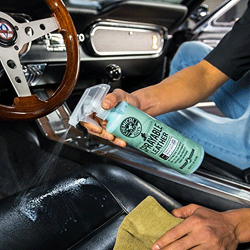 Chemical Guys SPI_103_16 Sprayable Leather Cleaner and Conditioner in One, 16 oz, Blue