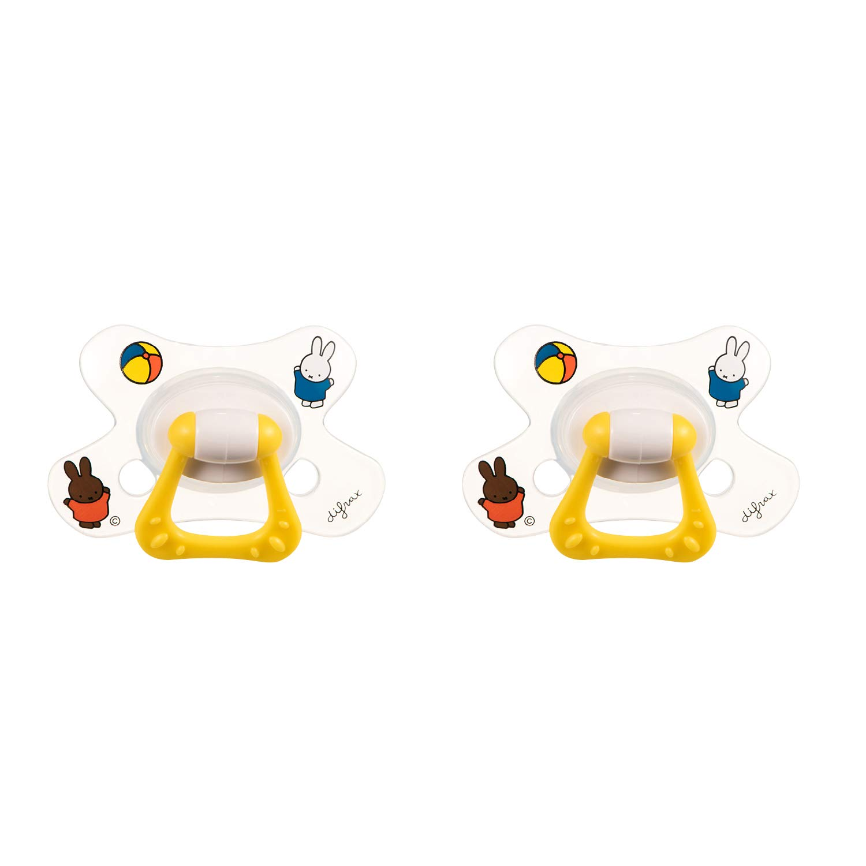 Difrax Chupete 18-36 Meses - Natural (Miffy) - 2 Unidades ...
