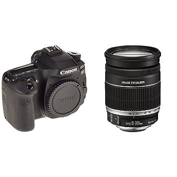 a4d2e809ae80 CANON EOS 80D Reflex numérique + EF-S 18-200mm F 3,5-5,6 IS  Amazon ...