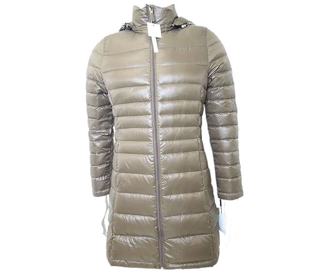 Calvin Klein acolchada Puffer abajo abrigo de la mujer - - : Amazon.es: Ropa y accesorios