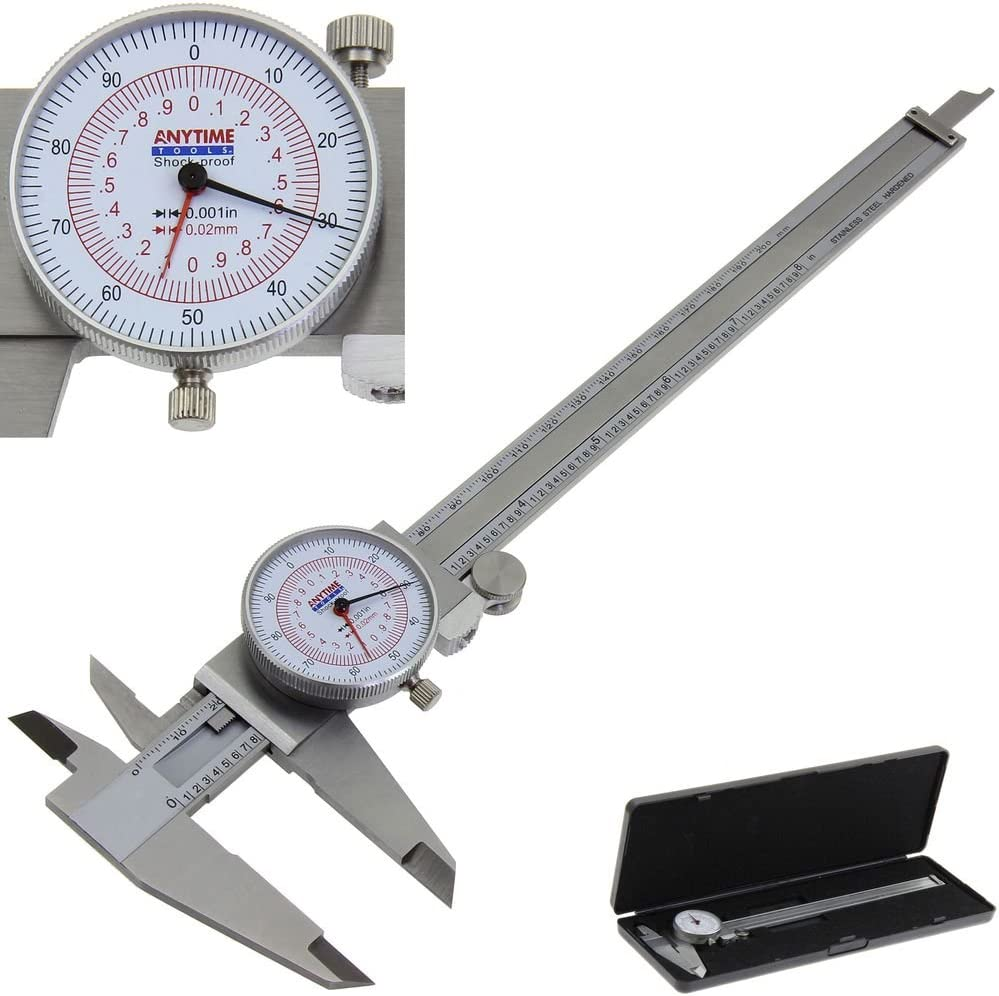 """6/"""" DIAL CALIPER WITH DUAL READ IN//MM"""