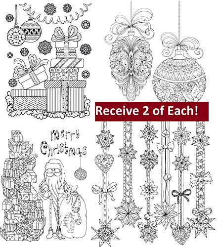 Amazon.com : Adult Coloring Greeting Cards with Envelopes ...