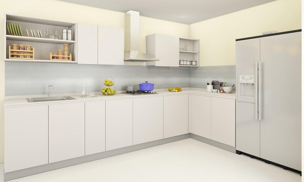 JRC HomeDecor Modular Kitchen White  Amazon.in Furniture