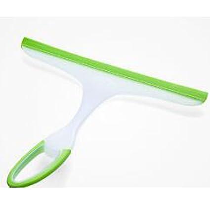 Limpiador de ventanas Raspador de vidrio limpiaparabrisas rasqueta de ducha baño espejo coche hoja superficie cepillo