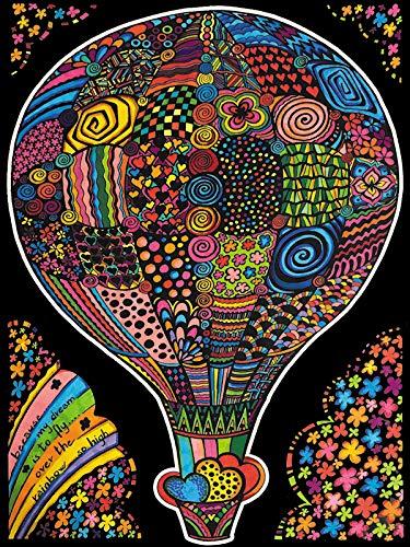 Colorvelvet L134 Disegno 47X35 CM Mongolfiera