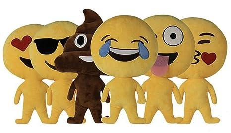 Muñeca de almohada Emoji Smiley Emoji caca almohada emoticon suave cojín de peluche juguetes de peluche ...