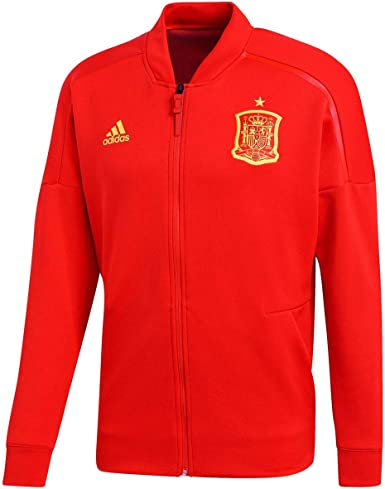 adidas Spanien Z.n.e Jacke Chaqueta de España para Hombre: Amazon ...