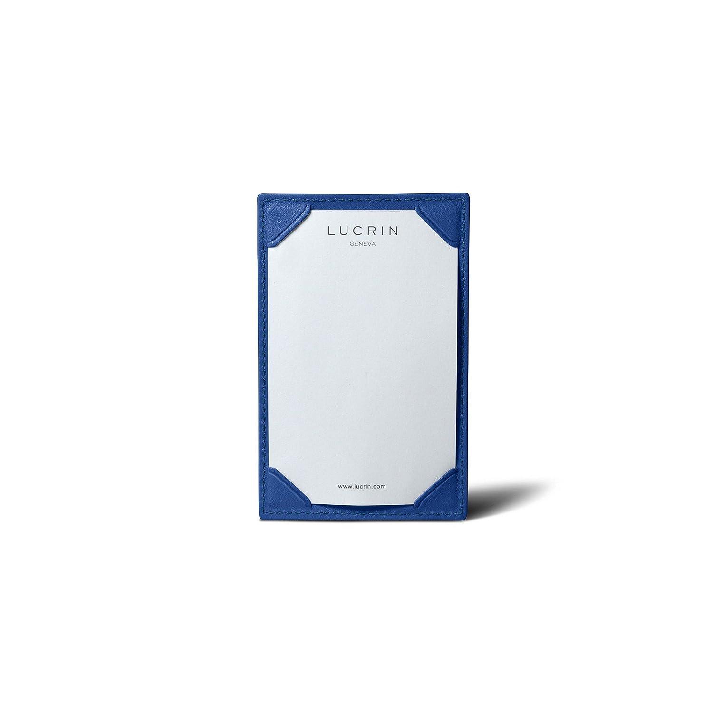 Lucrin – Small手書きパッド4.3 X 2.8インチ – Smoothレザー B006GTTF8M ロイヤルブルー ロイヤルブルー