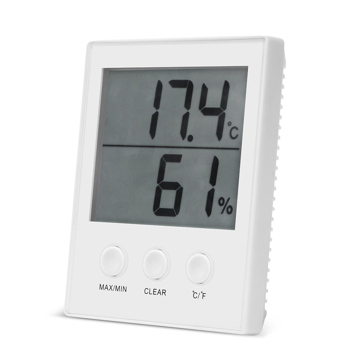 Digital Hygrometer Thermometer, Temperature and Humidity Gauge Monitor Meter with Large LCD Display Office for Home Office Indoor. KAIKING